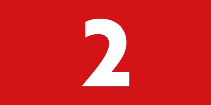 Zahl der Woche – 2