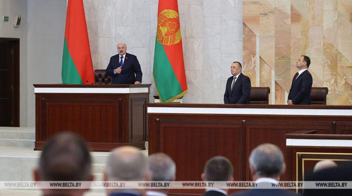 Hybride Kriegsführung statt Staatsterrorimus: Lukaschenko dreht das Narrativ um