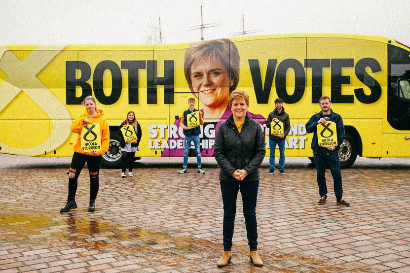 Wahlen in Schottland für Mandat über Unabhängigkeit