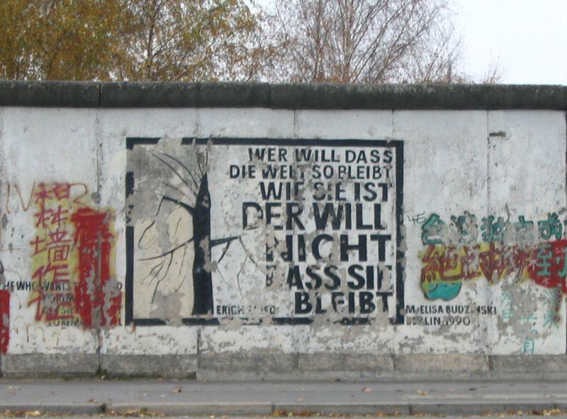 """""""Wer sagt: hier herrscht Freiheit, der lügt, denn Freiheit herrscht nicht"""""""