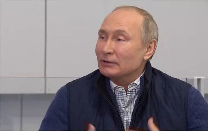 """Putin zur Nato-Mitgliedschaft der Ukraine: """"Sie spuckten einfach auf unsere Interessen"""""""